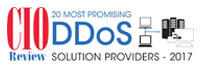 20 Most Promising DDoS Solution Providers 2017